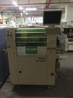 日本MINAMI全自动锡膏印刷机NK878SV