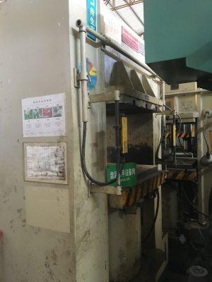 金锐丰 单柱式油压机 YJ84-500