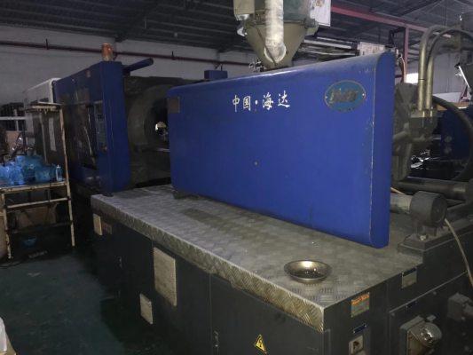 工厂生产中海达388伺服注塑机