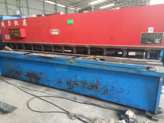威力机床 液压剪板机 QC12Y-8X4000
