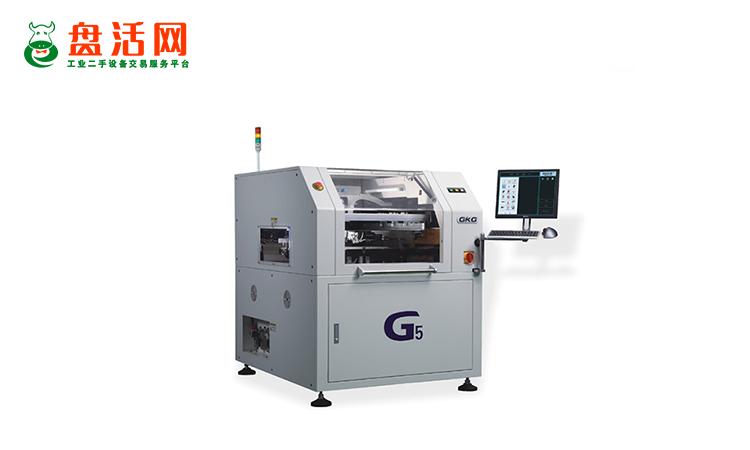 二手全自动锡膏印刷机出售,全自动锡膏印刷机的特点是什么?