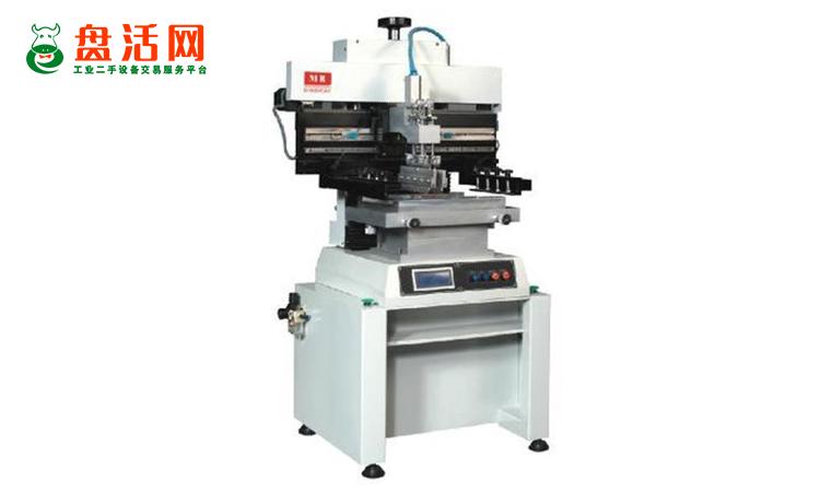 二手半自动锡膏印刷机设备的工作原理和优势特点!