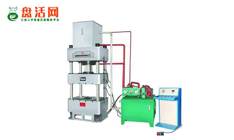 怎么理解二手四柱式油压机设备的精度?